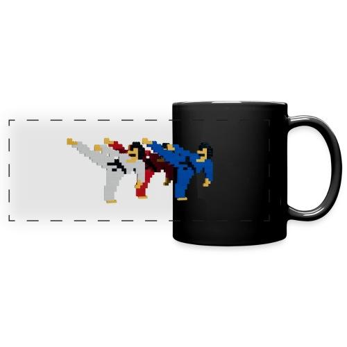 8 bit trip ninjas 2 - Full Colour Panoramic Mug
