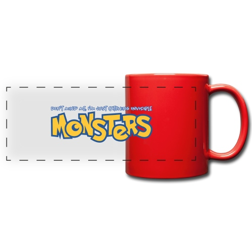 Monsters - Full Color Panoramic Mug