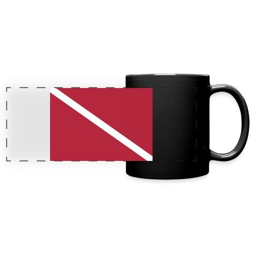 Diver Flag - Full Color Panoramic Mug