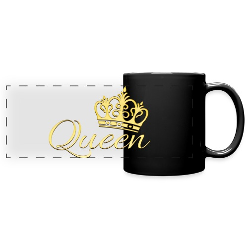 Queen Or -by- T-shirt chic et choc - Mug panoramique uni