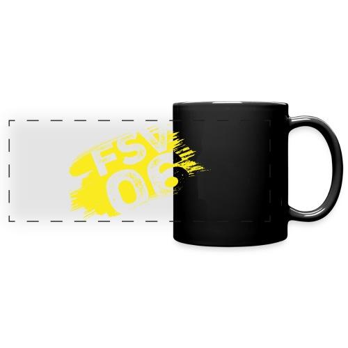 Hildburghausen FSV 06 Graffiti gelb - Panoramatasse farbig