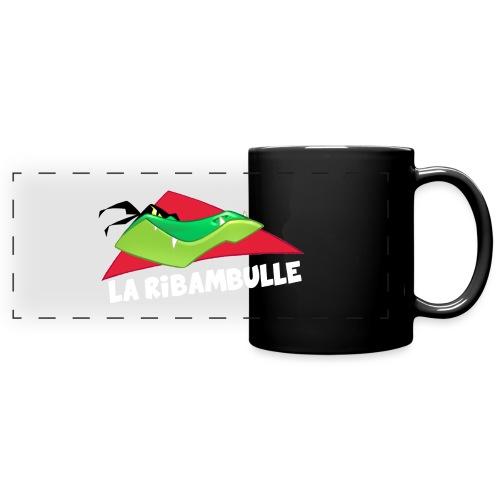 laRibambulle logoHD blanc png - Mug panoramique uni