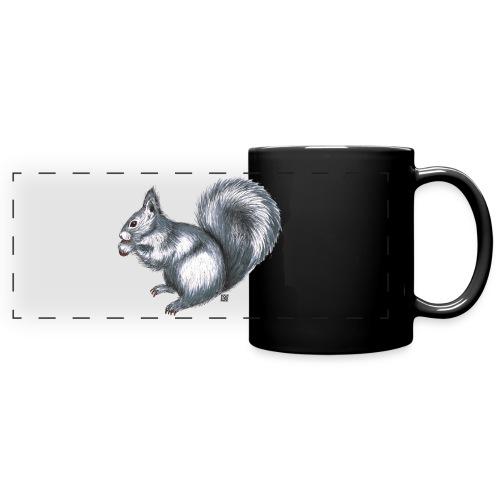 Eichhörnchen - Panoramatasse farbig