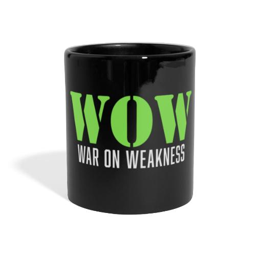 War on weakness hell - Panoramatasse farbig