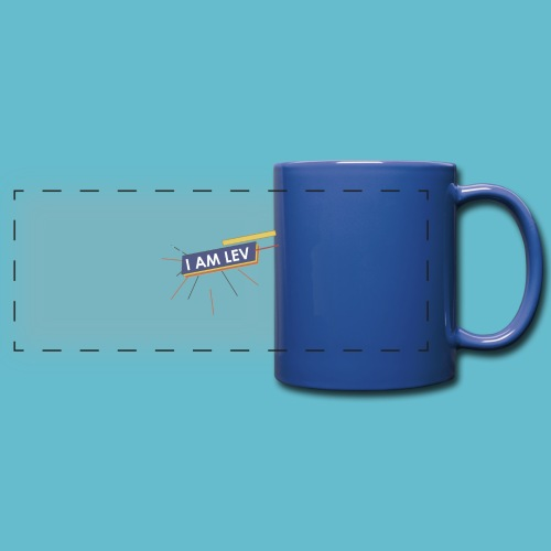 I AM LEV Banner - Panoramamok gekleurd