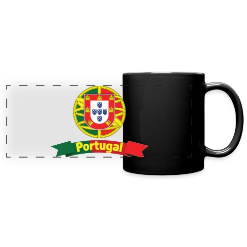 Portugal Campeão Europeu Camisolas de Futebol - Full Color Panoramic Mug