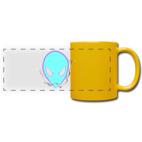 People alienate me. I'm out of this world - Full Color Panoramic Mug