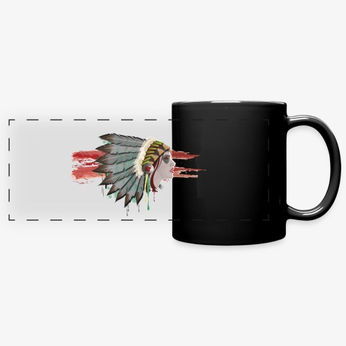 Native american - Mug panoramique uni