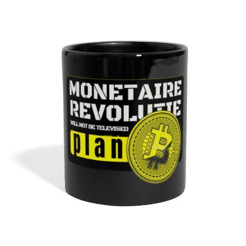 Bitcoin Revolutie - Panoramamok gekleurd