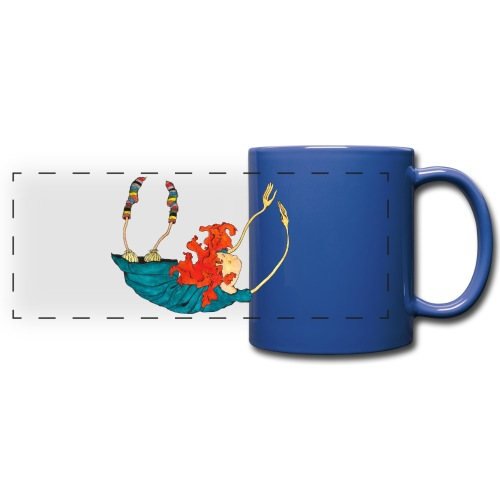 Frit fald - Panoramakrus, farvet