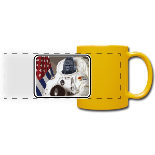 gorillanaut - Full Colour Panoramic Mug