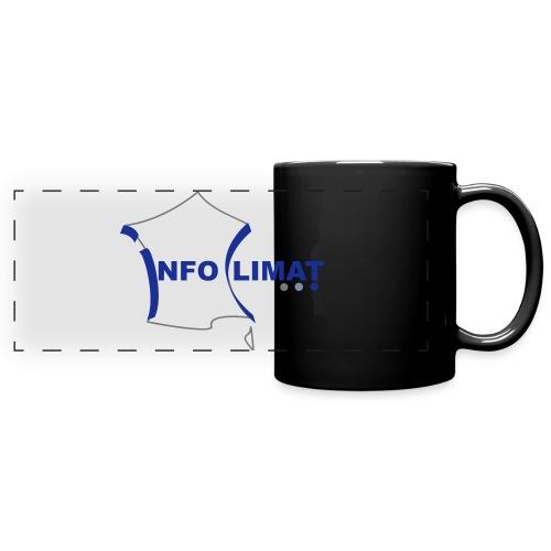 logo simplifié - Mug panoramique uni
