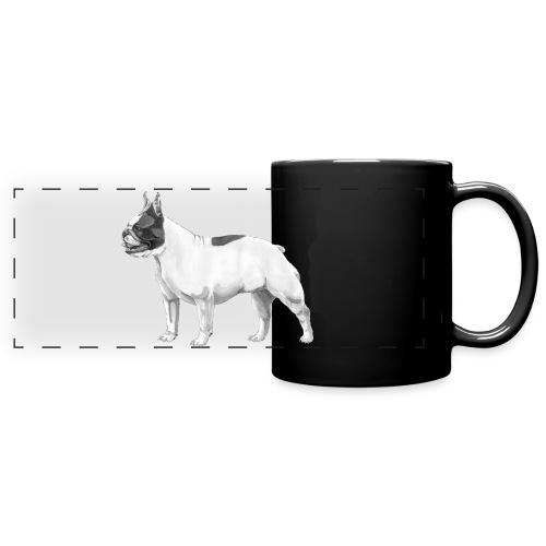 French Bulldog - Panoramakrus, farvet
