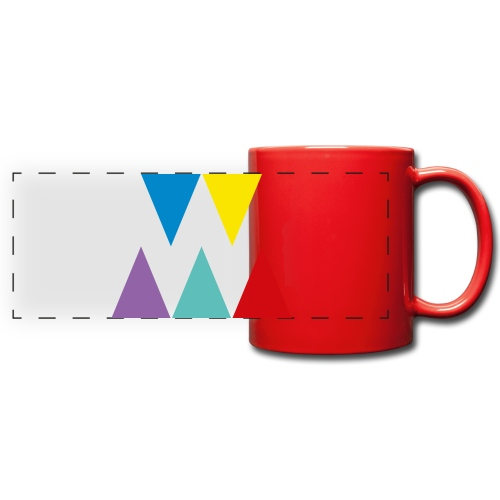 Logo We are les filles - Mug panoramique uni