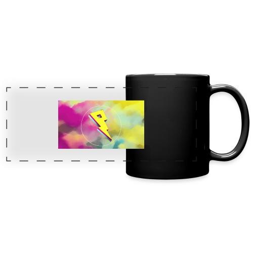 lightning bolt - Full Colour Panoramic Mug