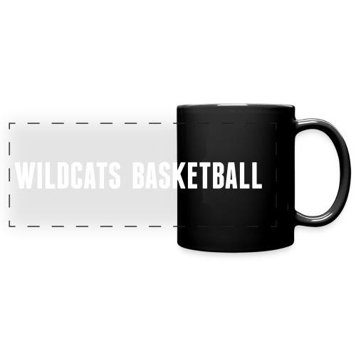 text-wildcatsbasketball - Panoramatasse farbig