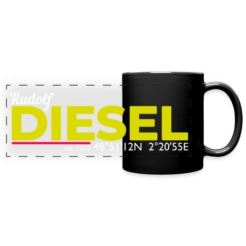 Rudolf Diesel geboren in Paris I Dieselholics - Panoramatasse farbig