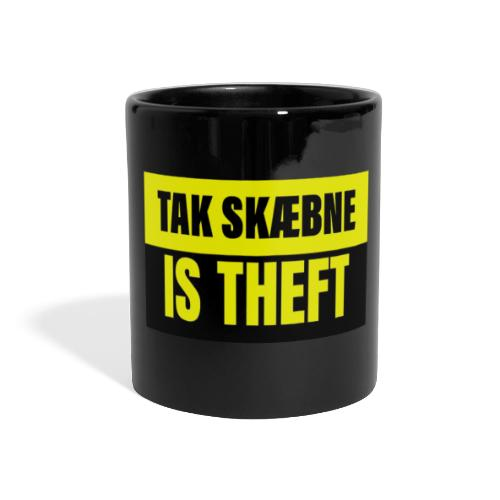 TAXATION IS THEFT - Panoramakrus, farvet