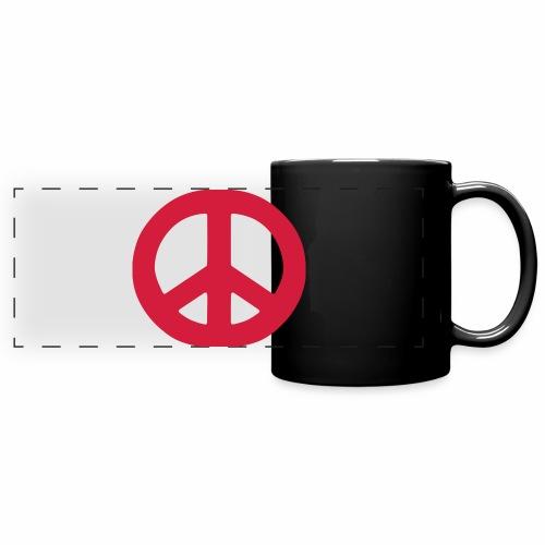 Peace - Full Colour Panoramic Mug