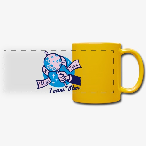 Moon on a Stick - Team Star - Full Color Panoramic Mug