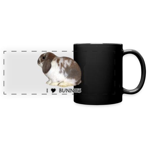 I Love Bunnies Luppis - Panoraamamuki värillinen