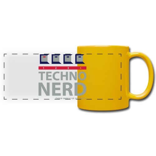 Techno Nerd - Full Color Panoramic Mug
