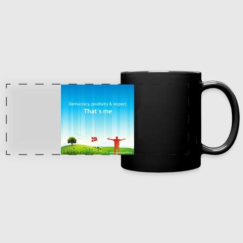 Rolling hills tshirt - Panoramakrus, farvet