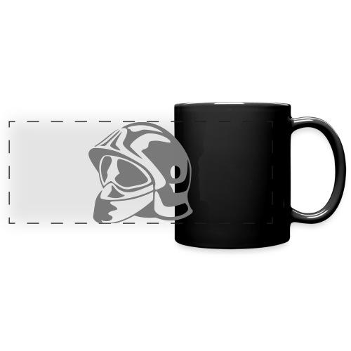 casque_pompier - Mug panoramique uni