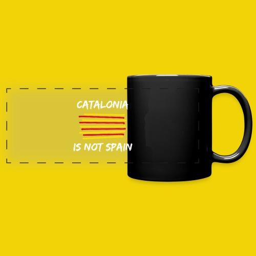 Catalonia Scratch - Full Color Panoramic Mug