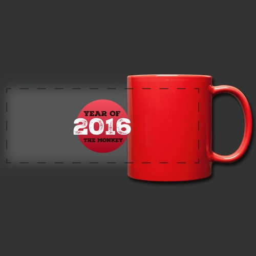 2016 year of the monkey - Full Color Panoramic Mug
