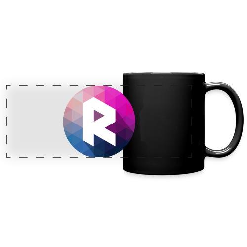radiant logo - Full Color Panoramic Mug