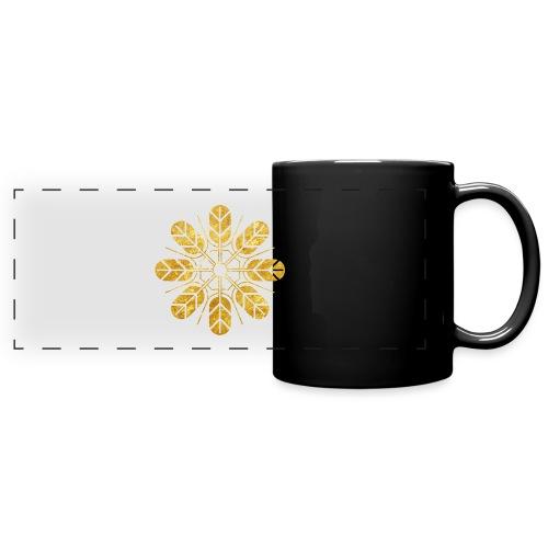Inoue clan kamon in gold - Full Colour Panoramic Mug