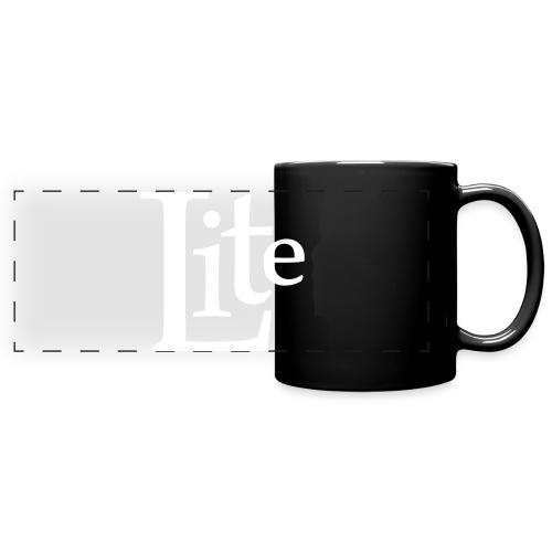 Lite Logo - Panoramatasse farbig