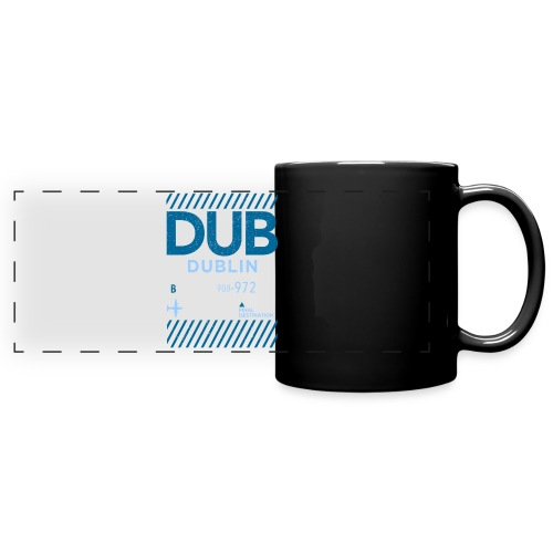 Dublin Ireland Travel - Full Color Panoramic Mug