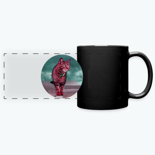 Chat sauvage - Mug panoramique uni