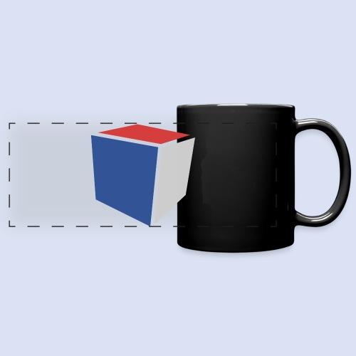 Cube Minimaliste - Mug panoramique uni