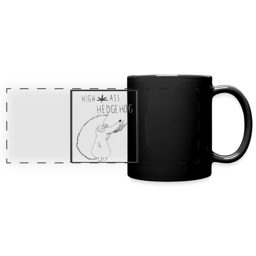HIGH ASS HEDGEHOG - Full Color Panoramic Mug