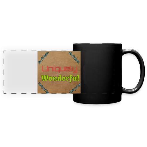 Autism statement - Full Color Panoramic Mug