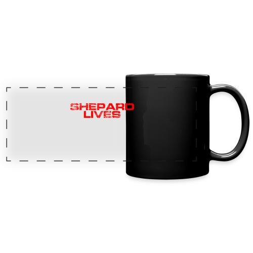 Shepard lives - Full Color Panoramic Mug