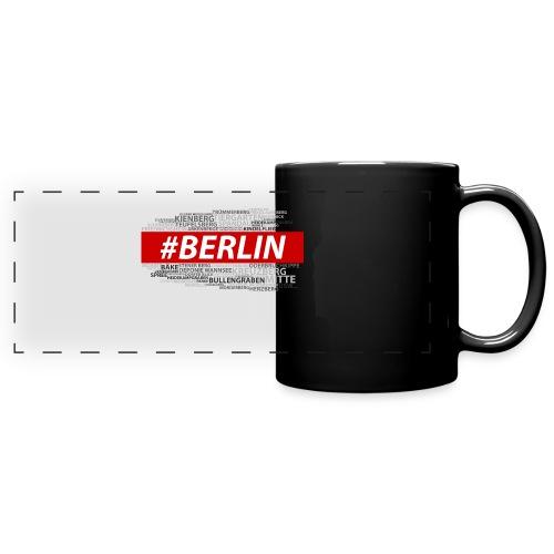 Hashtag Berlin - Panoramatasse farbig