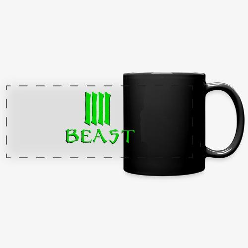 Beast Green - Full Colour Panoramic Mug
