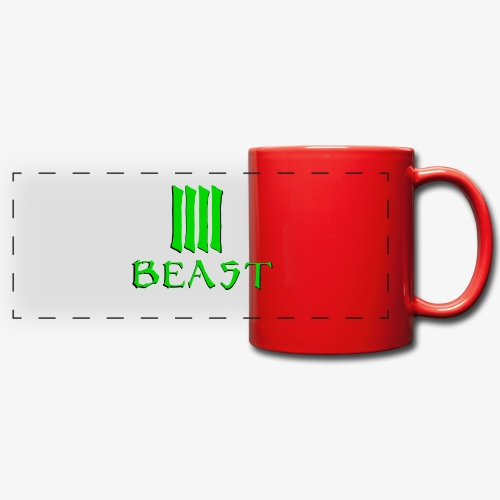 Beast Green - Full Color Panoramic Mug