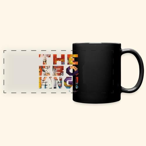 THE BBQ KING T SHIRTS TEKST - Panoramamok gekleurd