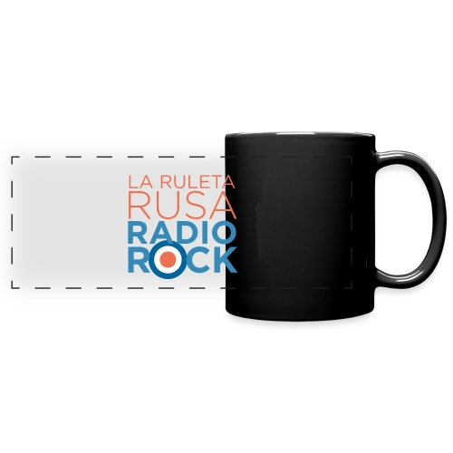La Ruleta Rusa Radio Rock. Portrait Primary. - Taza panorámica de colores