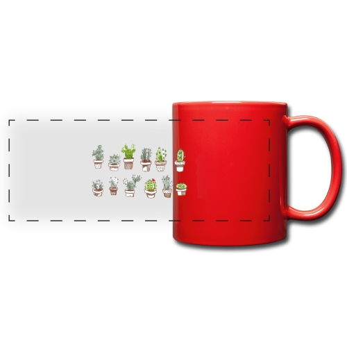 Cactus Family - Mug panoramique uni