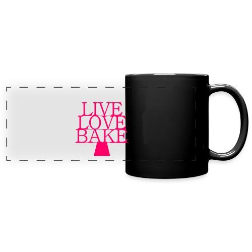 LiveLoveBake ekstra stor - Panoramakrus, farvet
