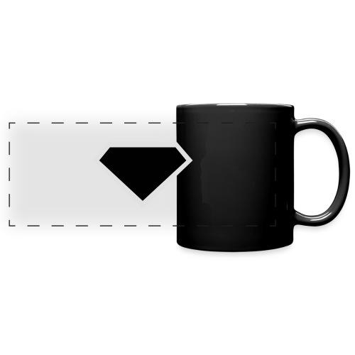 Diamond Black - Two colors customizable - Panoramamok gekleurd