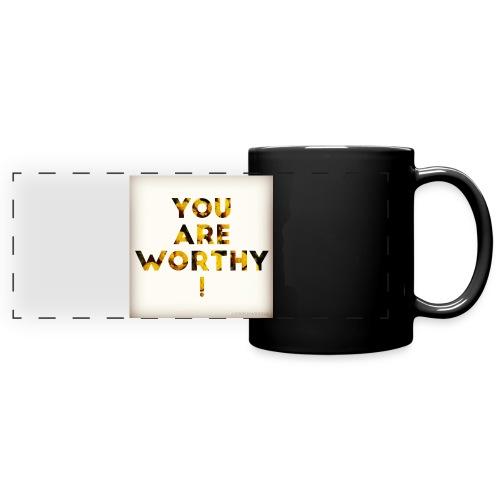 You Are Worthy - Panoraamamuki värillinen