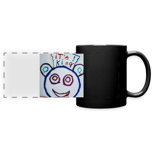 de panda beer - Panoramamok gekleurd
