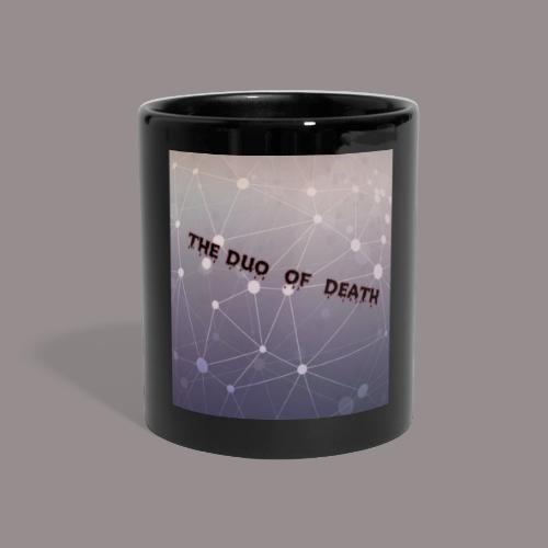 The duo of death logo - Panoramamok gekleurd